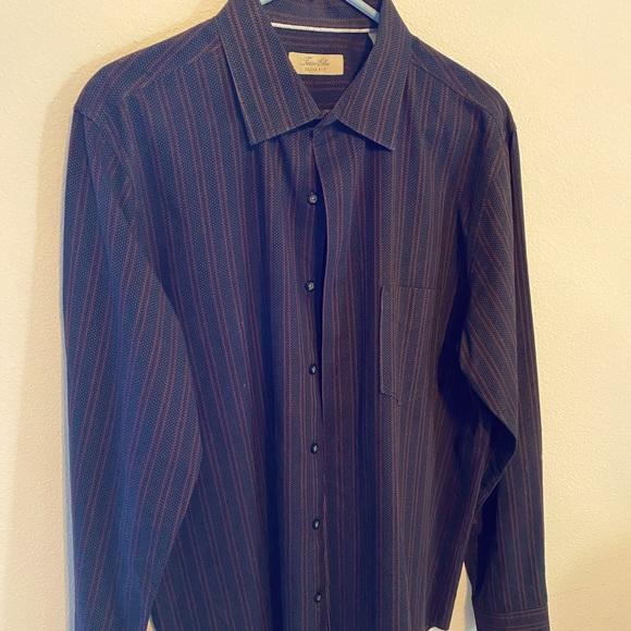 Tasso Elba slim cotton shirt